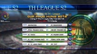 Trực tiếp TH League S2 2018 - Vòng 7 [FC PTSC Thanh Hóa vs FC Lucky Thanh Hà]