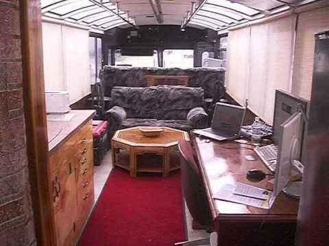 The Ultimate Veggie Conversion Bus Inside Youtube