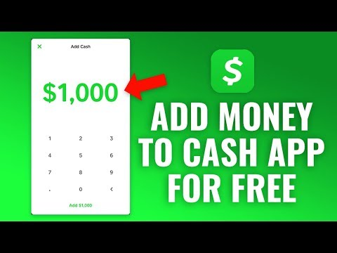 How to Add Money to Cash App for Free!