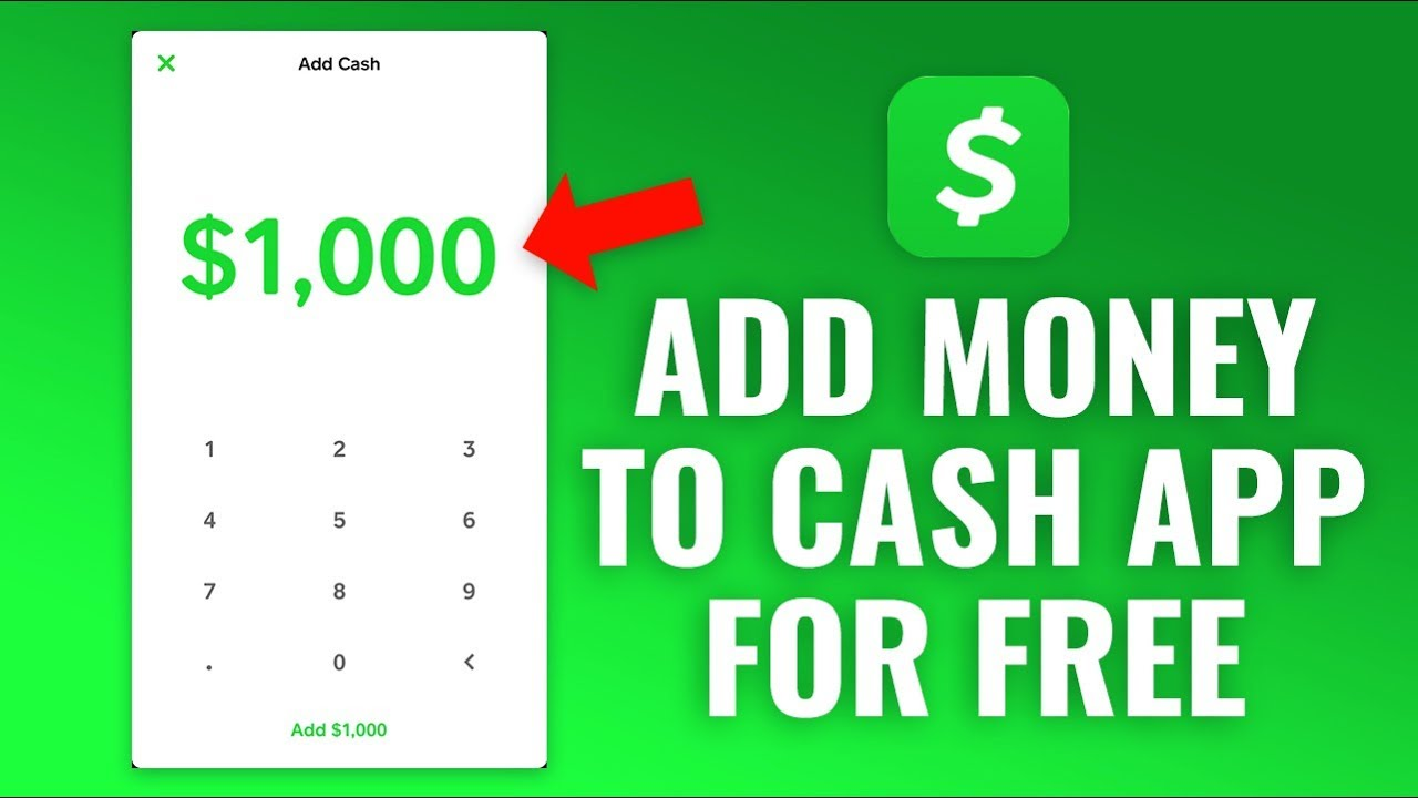 How To Add Money Cash For Free