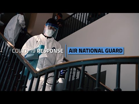 Air Force COVID-19 Response - Air National Guard (feat. CSAF, CMSAF and ANG)