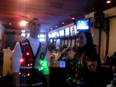 """Conga"" karaoke - Michael and Ashley"