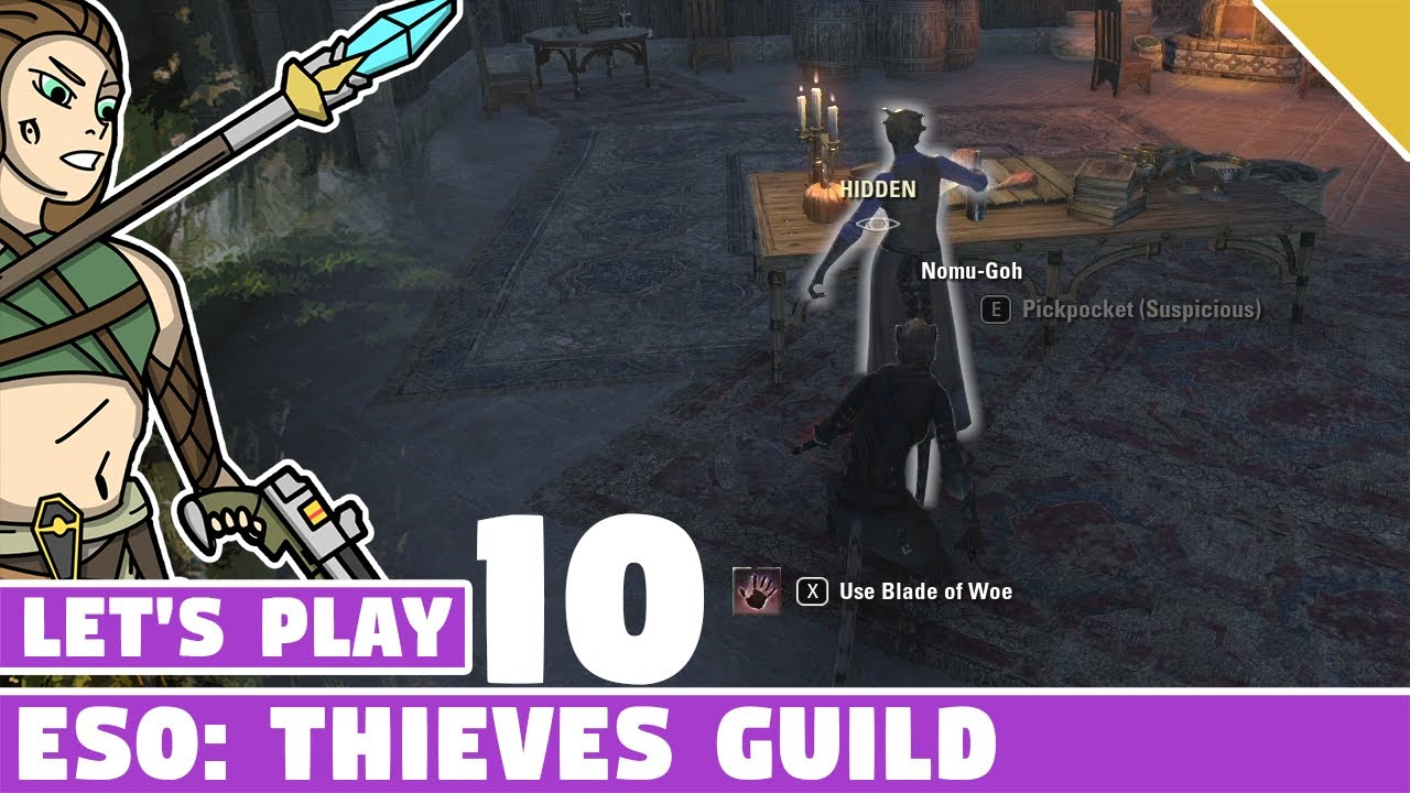 Shell Game Quest Let's Play ESO: Thieves Guild! #10 Elder Scrolls Online Let's Play
