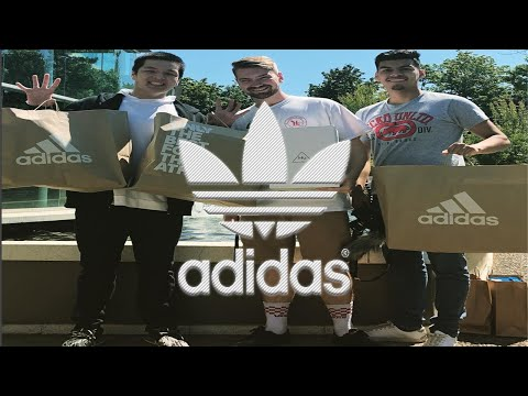 ADIDAS EMPLOYEE STORE AND CHEST DAY!!!