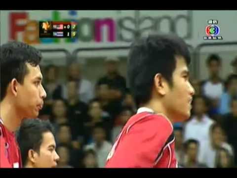 เซปักตะกร้อ รอบชิงชนะเลิศ ระหว่างไทยกับมาเลย์เซีย เซตที่ 2 (29 ก.ย. 2556)