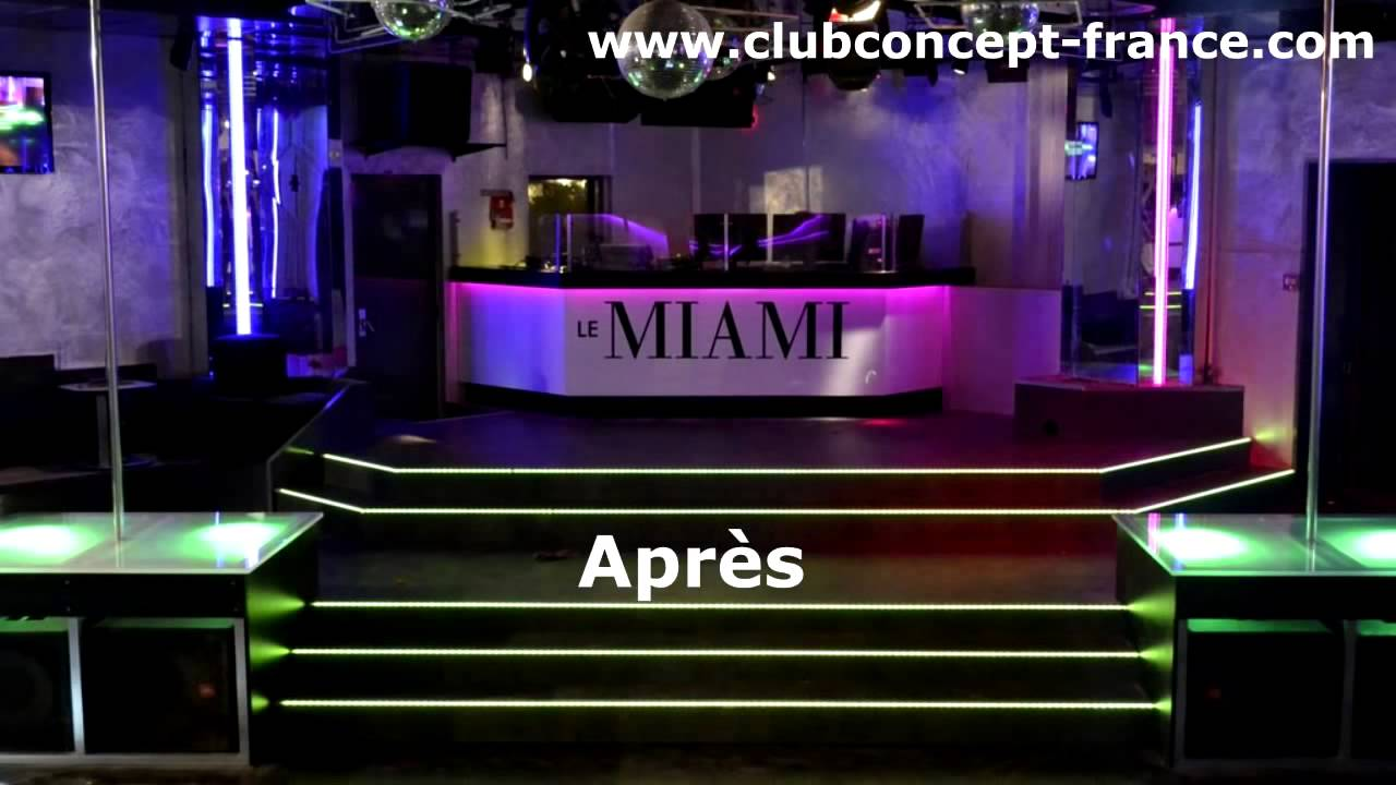 Am nagement club concept d coration discoth que relookage for Decoration boite de nuit