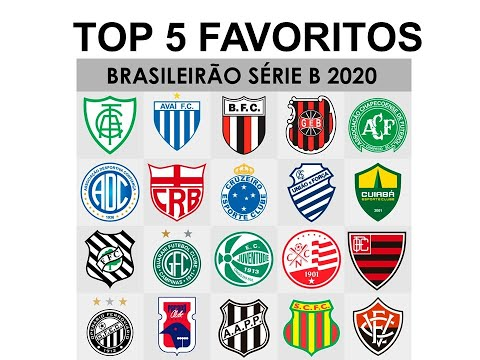 Brasileirao Serie B Top 5 Favoritos Tabela E Classificacao Futebol E Estatistica 14 Set Youtube