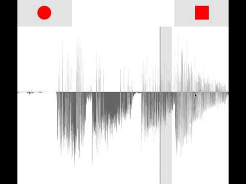 p5 js audio recorder w/ waveform and looper