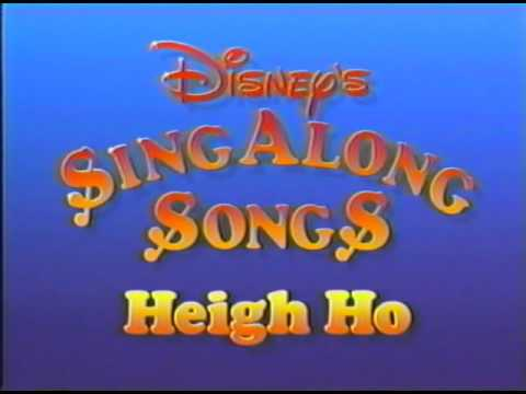 closing to disney 39 s sing along songs heigh ho 1990 vhs youtube. Black Bedroom Furniture Sets. Home Design Ideas