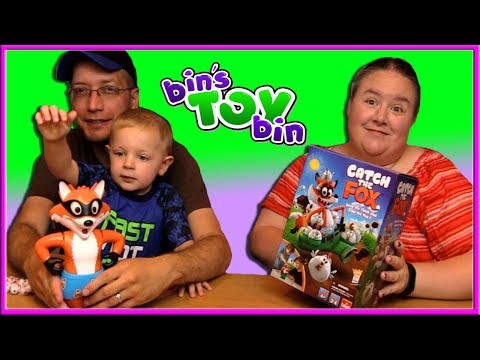 TEAGAN WANTS TO PLAY CATCH THE FOX! | Bin's Toy Bin