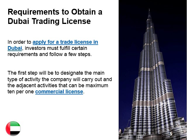 Obtaining a Dubai Commercial License