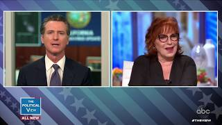 Gov. Gavin Newsom on How California is Helping to Manage Domestic Violence | The View
