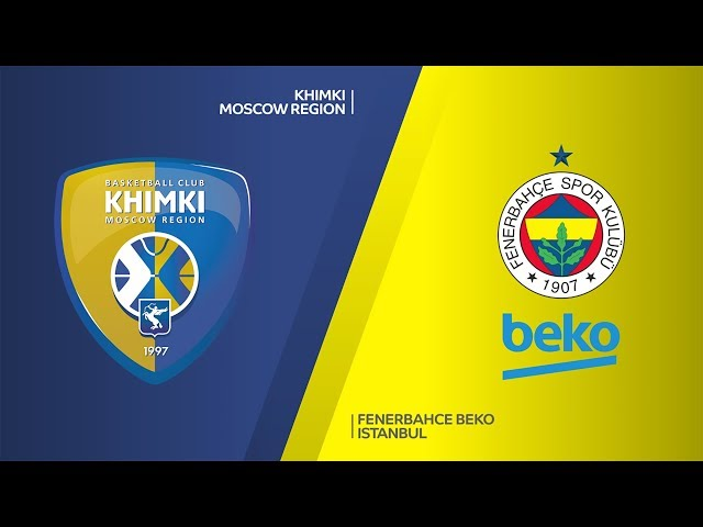 Khimki Moscow Region - Fenerbahce Beko Istanbul Highlights |  EuroLeague, RS Round 28