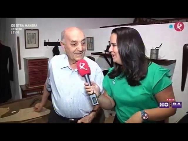 Entrevista a Francisco González Santana en 'A esta hora'