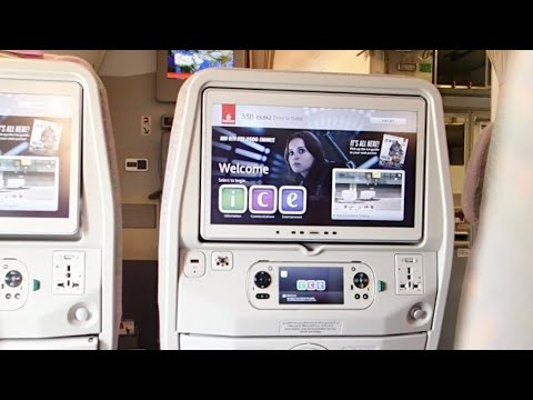 Emirates NEW Inflight Entertainment [ICE] Review | Boeing 777-300ER