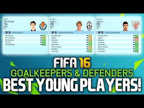 FIFA 16: BEST YOUNG PLAYERS ON CAREER MODE! (GOALKEEPERS & DEFENDERS)