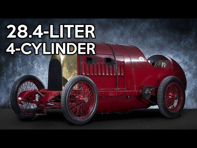 9 Of The Largest Automobile Four Cylinder Engines