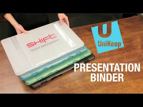 UniKeep - Presentation Binders For Meetings, Portfolios And Photography