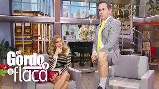 Baixar Carlos Calderon le mostró su pierna 'peluda' a Lili Estefan | GyF