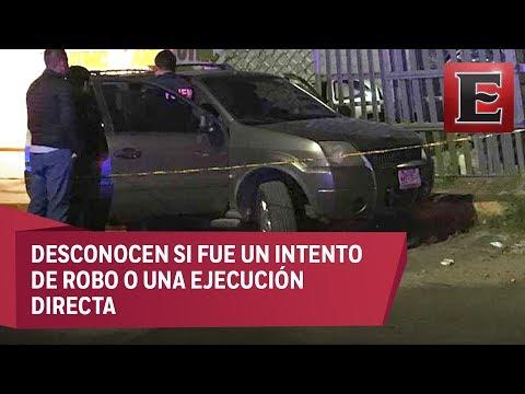 Reporte nocturno: Matan a tiros a conductor de una camioneta en Ecatepec