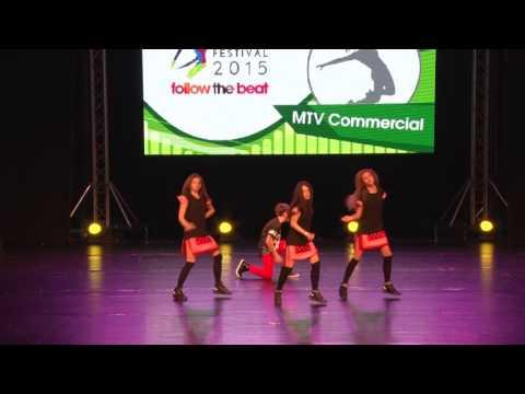 Bucharest Dance Festival 2015  MTV Commercial Group Junior Rank:1