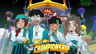 Sapnap, CaptainSparklez, KaraCorvus and Sylvee Compete In Minecraft Championship