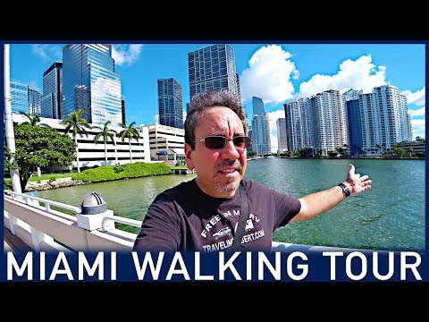Walking tour of Miami from Brickell to Historic Little Havana | Traveling Robert