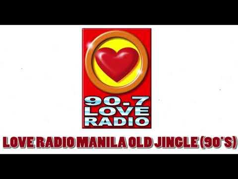 90.7 Love Radio Manila Old Jingle 1995 (Improved Audio)
