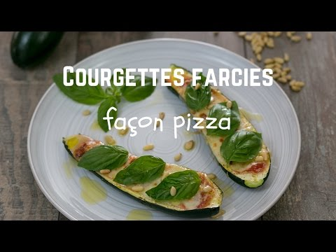 courgettes-farcies-façon-pizza---yummycook