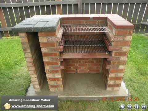 Building a Brick Charcoal Grill