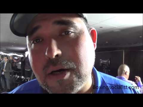 """Angel Heredia: """"Manny can win the fight but gave it to Bradley like Marquez."""""""