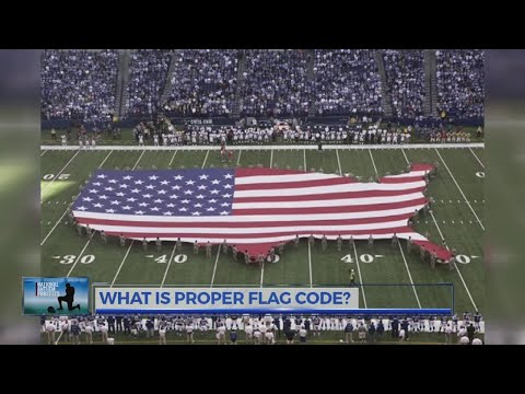 What Is Proper Flag Code
