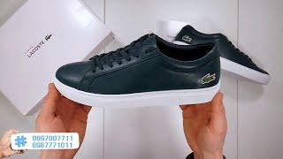 ???? Кроссовки Lacoste L12 12 Leather / Обзор оригинала / Распаковка (Unboxing)