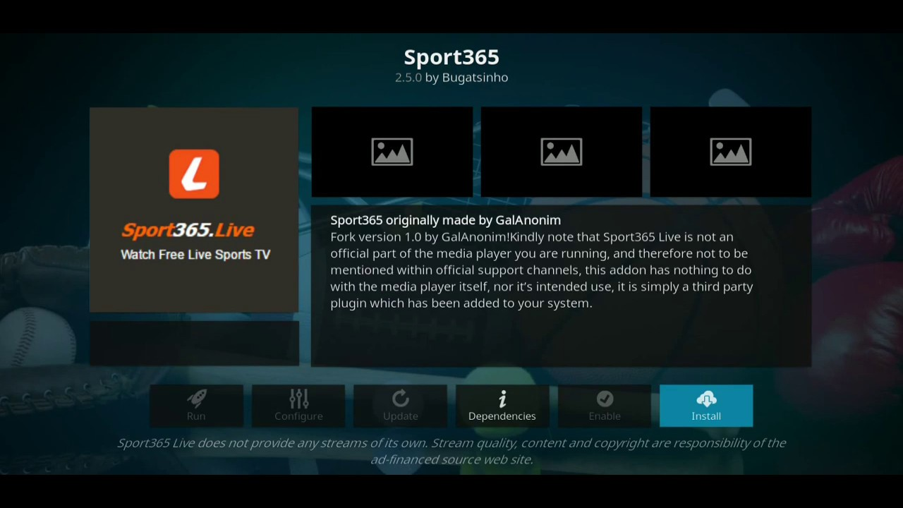 2019 may!!! new update How To Install Sport 365 Live Kodi Addon