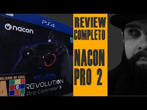 Nacon Revolution PRO 2Controle Profissional para PS4 e PCReview Completo com testes a 144 FPS