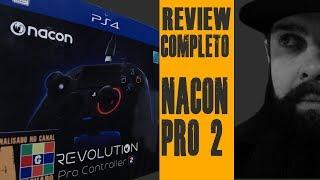 Nacon Revolution PRO 2 - Controle Profissional para PS4 e PC - Review Completo com testes a 144 FPS