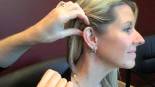 How to Insert RIC Hearing Aid