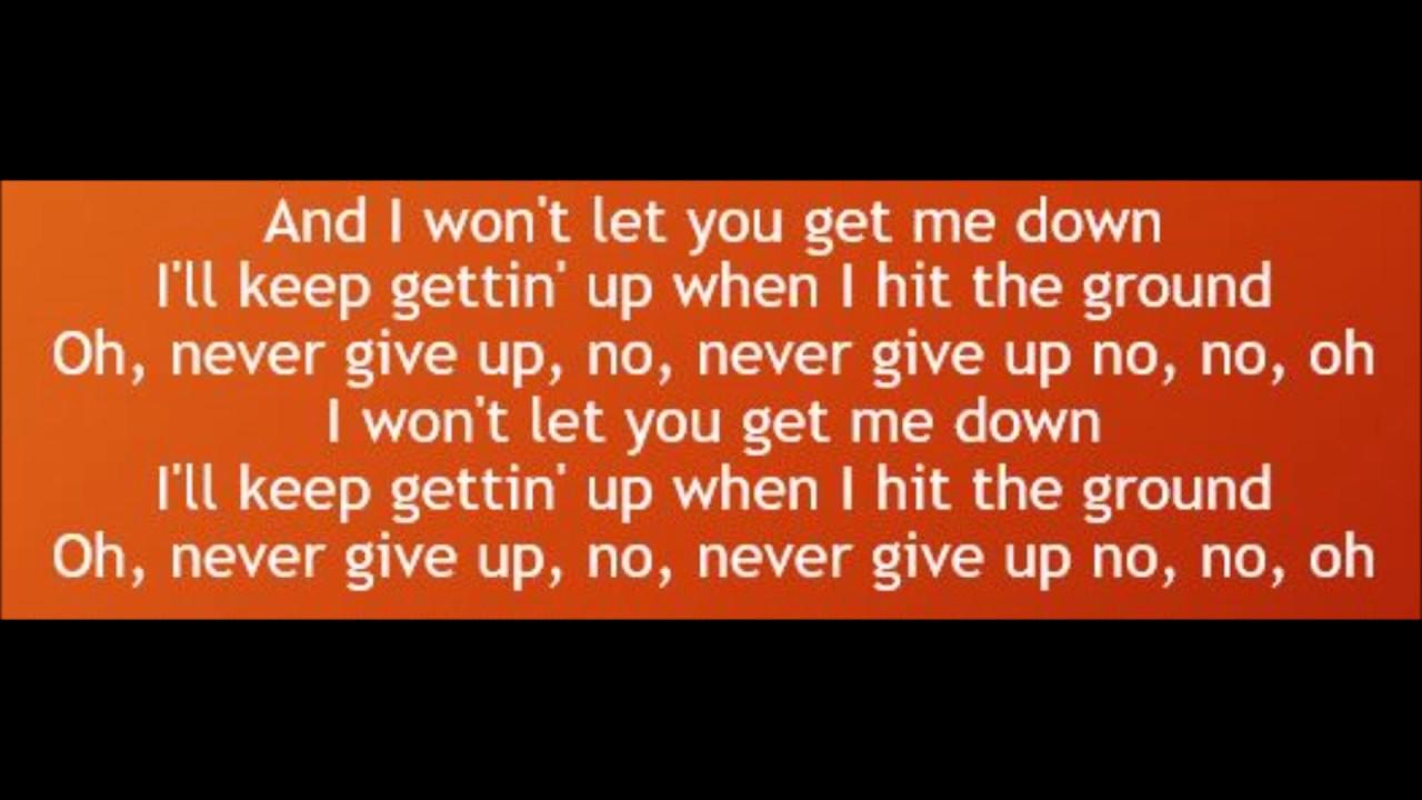Sia - Never Give Up Lyrics | MetroLyrics
