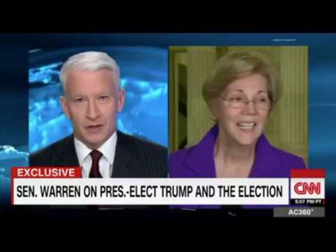 Anderson Cooper Calls Out Elizabeth Warren for Trying to Smear Steve Bannon