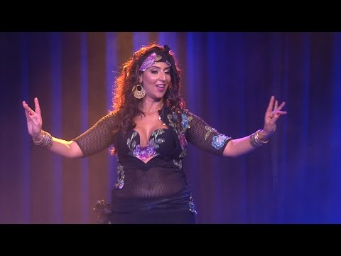 Kaouther Ben Amor Baladi  Orientalicious Belly Dance 2015