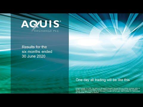 Aquis Exchange Plc (AQX) H1 20 Results Presentation