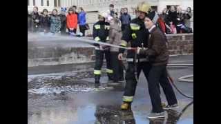 День пожарной охраны в гимназии №622