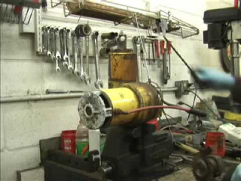 meyer plow pump 6 way horse trailer wiring diagram rebuilding a e 60 snow part 1 2 youtube