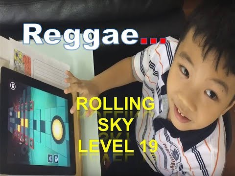 Rolling Sky Level 19 - Reggae (Stuck at 25%, How can i avoid these fast and slow motion?)
