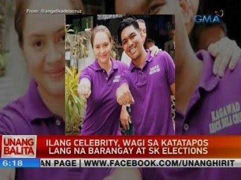 Ilang celebrity, wagi sa katatapos lang na barangay at sk elections