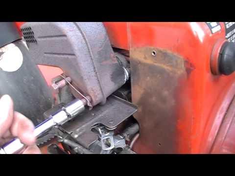 How To Remove Replace Exhaust Muffler on Toro Snowblower Tecumseh Engine