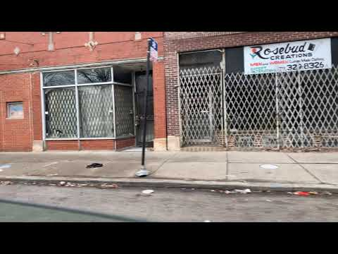 On Way To O'Hare Airport, A Short Vlog Of Part Of South Chicago