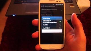 Samsung Galaxy S3 - S6 Edge mini Netzproblem nicht erreichbar