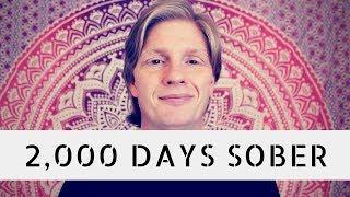 2,000 Days Sober: Lessons Learned So Far