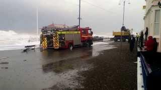 Storm in Aberystwyth